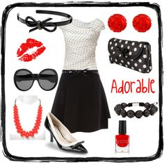 So me. :) Red, black, and white will never get old.