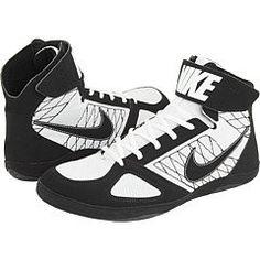 c37e700bf17b Nike Takedown Mens Wrestling Shoes Black white Size 9 Nike.  54.99. Rubber  outsole