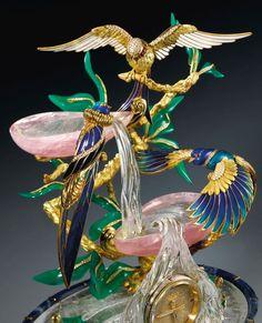 PATEK PHILIPPE 'THE BIRDS OF PARADISE FOUNTAIN CLOCK'