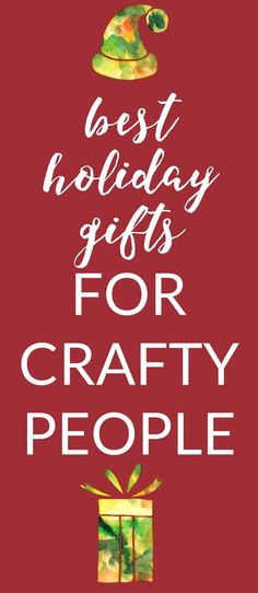 Heres a list of favorite gifts for our elderly loved ones each awesome list of best gifts for crafters whether you are a crafter who needs ideas fandeluxe Images