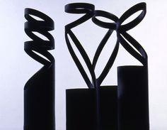 Vases en métal noirs Progetti - Boutique MLC déco