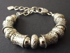Items similar to Rings & Tubes Bracelet on Etsy Designer Jewellery, Jewelry Design, Charmed, Bracelets, Rings, Handmade, Stuff To Buy, Etsy, Vintage