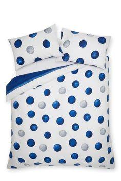 *NEXT    Painted stripe spot bed set   Juego de cama con rayas y puntos