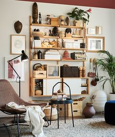 Keep your most cherished travel collectibles out in the open on shelving like IKEA SVALNÄS, for all to see. Svalnäs Ikea, Furniture Making, Living Room Furniture, Living Rooms, Home Design, Interior Design, Wall Design, Design Ideas, Rattan Armchair