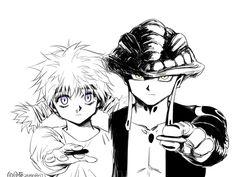 Meruem and Komugi Hunter x Hunter