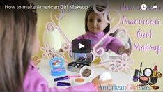 DIY American Girl Makeup Craft