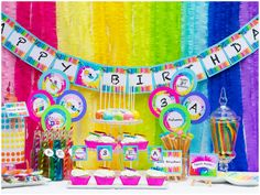 Colorful Little Picasso Art Party!