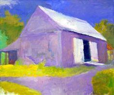 Barn in Marlboro, VT By Wolf Kahn ,1999