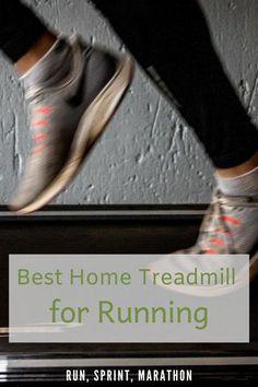 Best Home Treadmill for Running - Run, Sprint, Marathon Best Treadmill For Running, Best Treadmill For Home, How To Start Running, Marathon, Treadmill Brands, Good Treadmills, Running Machines, Bad Knees, Shin Splints