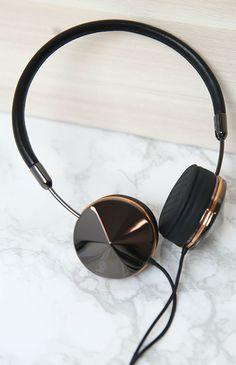 Frends - Layla Headphones - Gunmetal/Rose Gold | Apartment | Peppermayo                                                                                                                                                                                 More