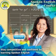 Stay competitive and confident by learning spoken English English Course, Global Citizen, Confident, Language, Learning, Studying, Teaching, Language Arts, Education