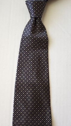 GEOFFREY BEENE men #silk necktie gray color with dots and pattern visit our ebay store at  http://stores.ebay.com/esquirestore