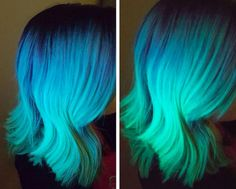 The hottest hair trend of 2016 has arrived: Backlight hair. This glow-in-the-dark hair has recently been illuminating Instagram feeds. | Health.com