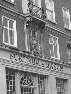 Fortnum & Mason in London