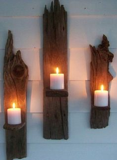 Driftwood Sconces