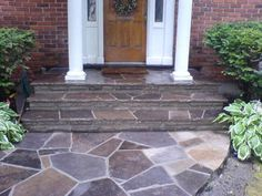I'd love to redo our front porch area with patio stones