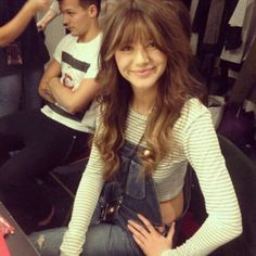 Eleanor got bangs! She looks good with them!