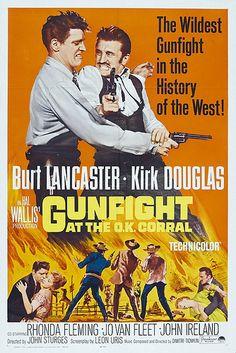 Gunfight at the O.K. Corral (1957) Burt Lancaster, Kirk Douglas, Rhonda Fleming, Jo Van Fleet