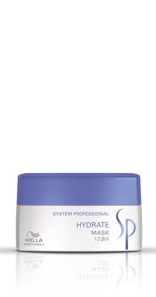 Wella System Professional Care - Hydrate series mask --- When the hair is just too dry and tangly.  Adds much-needed moisture to the hair without making it flat. www.toscasalon.co.za