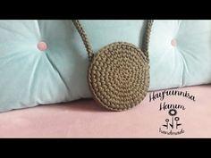 Penye ipten çanta yapımı-2 - YouTube