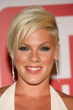 Pink Hairstyles Amazing Pompadour And Quiff Haristyles  Pinterest  Singer Pink