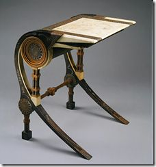 Carlo Bugatti Desk, 1902. The Metropolitan Museum of Art, New York.