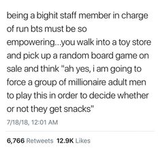 This is the funniest thing I've seen all day. Imagine the staff actually making grown men play board games and eat food and it's so crazy I can't Bangtan V, Bts Namjoon, Seokjin, Hoseok, Taehyung, Bts Jin, Bts Jungkook, Btob, Vixx