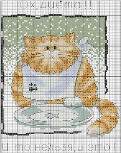 Коты и кошки. ЧАСТЬ 2 / Вышивка / Схемы вышивки крестом