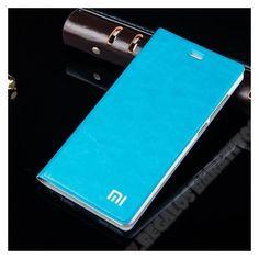 """Funda tapa original hecha en piel para tu smartphone Mi Note 5,7"""""""