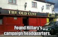 Found Where Hillary's Campaign Headquarters