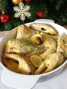 Karp w cytrynowej panierce pieczony Karp, Bagel, Camembert Cheese, French Toast, Bread, Breakfast, Blog, Morning Coffee, Brot
