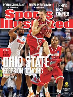 Ohio State men's basketball on the cover of Sports Illustrated