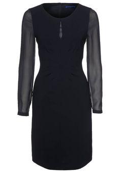 Vestido de cóctel negro de JOOP!  http://stylabel.com/product/joop-vestido-de-coctel-negro/77358