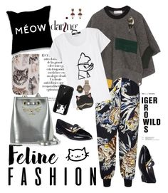 """Meow Fashion"" by ellie366 ❤ liked on Polyvore featuring STELLA McCARTNEY, Toga, Arco, Karl Lagerfeld, Marc by Marc Jacobs, Gucci, Charlotte Olympia, Casetify, Kate Spade and trends"