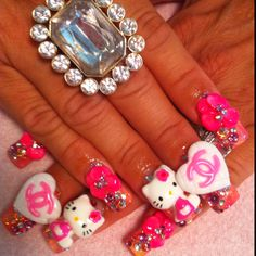 Chanel & Hello Kitty