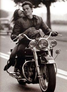 Alain Delon with Nathalie