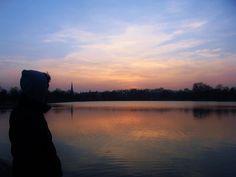 Sunset. (Hyde Park)