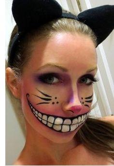 Love face paint for Halloween #unique #halloween #makeup