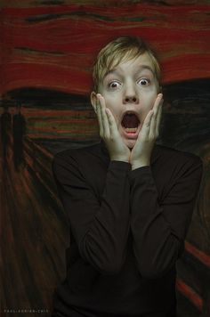 The Scream  by Paul Adrian Chis
