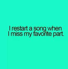 Restart a song
