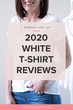 I went in search of the best white t-shirt for women, and I tried 20 white v-neck tees ranging in price from $9 to $90. Click through to see the results! Basic Outfits, Simple Outfits, Packing Clothes, Fashion For Women Over 40, Wardrobe Basics, White V Necks, T Shirts For Women, Clothes For Women, White Tees