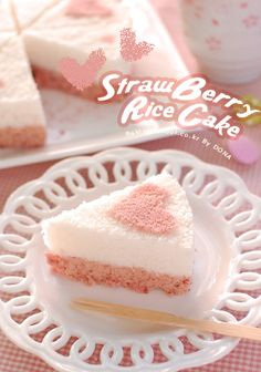 Strawberry Rice Cake
