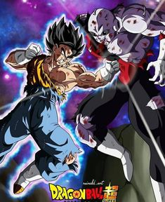 If dis fight actually happened, vegito would have mop the floor with Jiren. Dragon Ball Z, Super Goku, Dbz Drawings, Akira, Gogeta And Vegito, Got Dragons, Dbz Characters, Sneaker Art, Manga