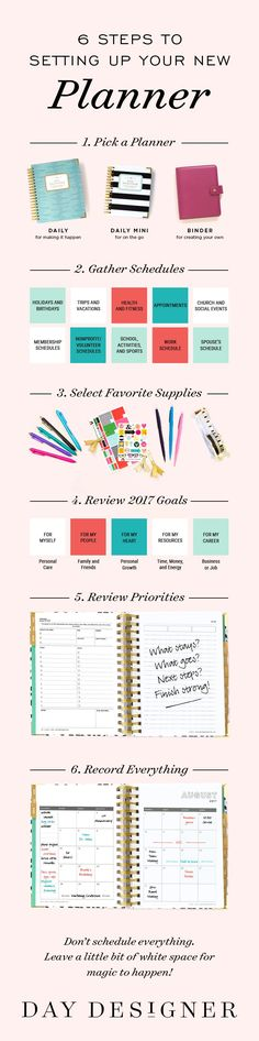 There's something incredibly inspiring and motivating about a fresh start. Read more about how to set up your new academic or midyear planner over on the Day Designer blog. Find out the most important questions to ask yourself as you prepare for your best year yet!