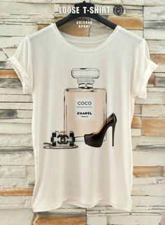 bd0c1b8f227263 Fashion Pop Art Scarf Eco Print T-Shirt by EugoriaShop