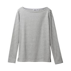 UNIQLO boat neck $20. Or maybe this is the perfect striped shirt?