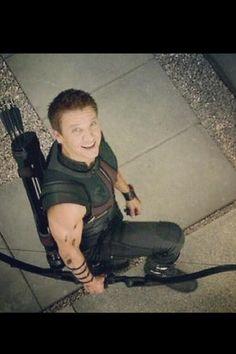 Hawkeye - love that smile!