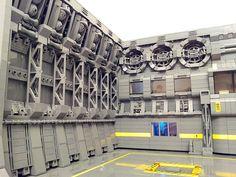 Spacecraft Maintenance Hangar