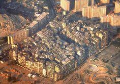 La ciudad amurallada de Kowloon en imágenes