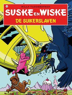 Suske en Wiske krijgen op een dag een lolly van een snoepverkopende robot. Die verandert in snoepgoed: Wiske wordt een flinke gummibeer en Suske blijkt gemaakt van chocolade. Kort daarop worden ze door de robot ontvoerd naar Suchardia, het Snoepland.